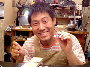 手作り結婚指輪小田様