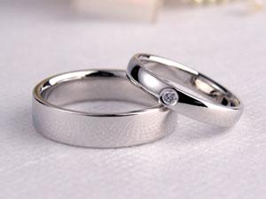 シンプルな手作り結婚指輪