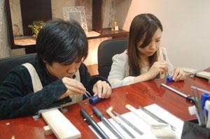 大阪府の手作り結婚指輪のお客様