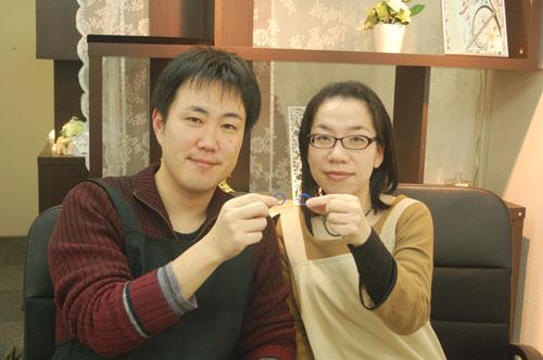 手作り結婚指輪松田様