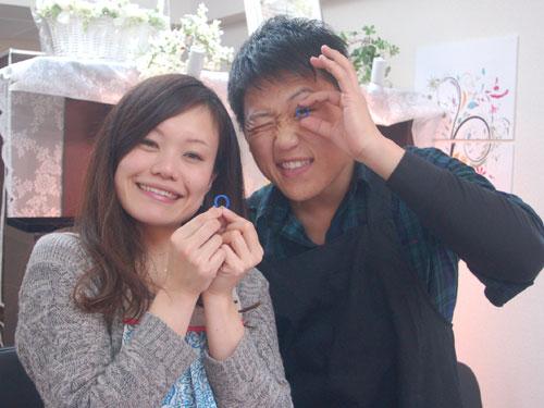 大阪府手作り結婚指輪