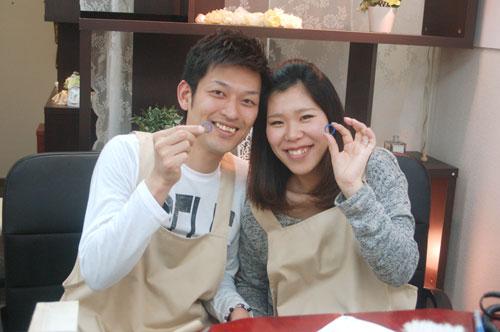 大阪府の手作り結婚指輪