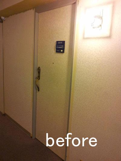 以前のドア