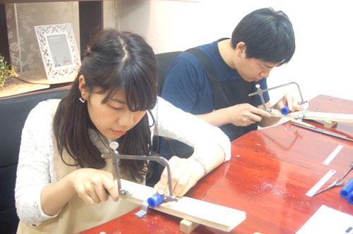 兵庫県より手作り結婚指輪