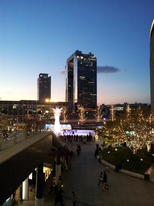 大阪駅から見たスカイビル