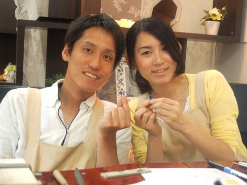 手作り結婚指輪の原型完成