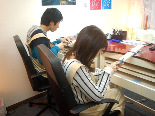手作り結婚指輪の製作開始