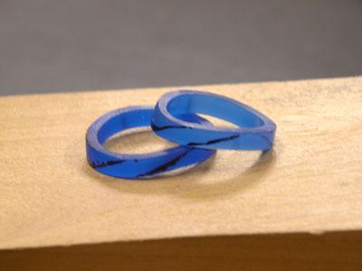 指輪のワックス