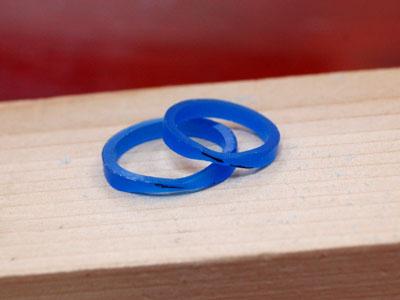 指輪ワックス原型