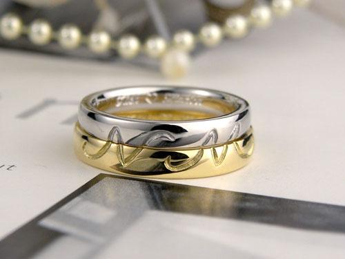 国際結婚の外国人の手作り結婚指輪