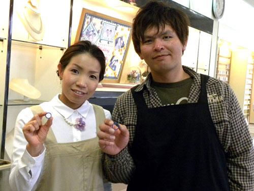 香川の手作り結婚指輪お客様