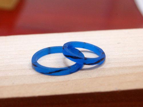 手作り結婚指輪の原型