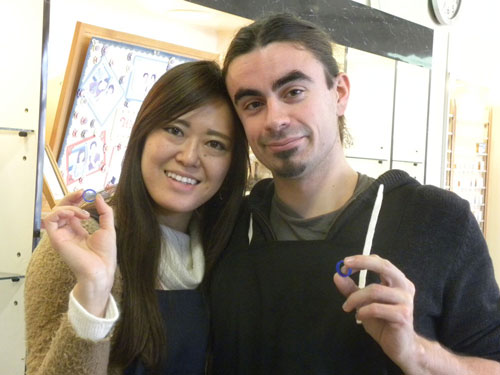 日本とフランス人の国際結婚カップル