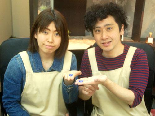 大阪市内の手作り結婚指輪お客様