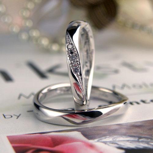 家族三人で作った手作り結婚指輪