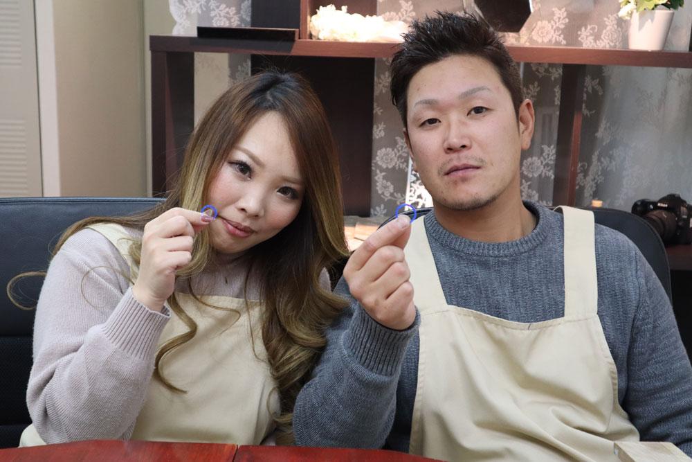 大阪府北村様手作り結婚指輪