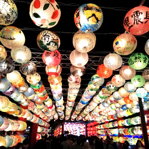 光の饗宴台南ランタン
