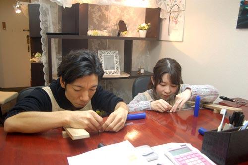 大阪来店の奈良のカップル