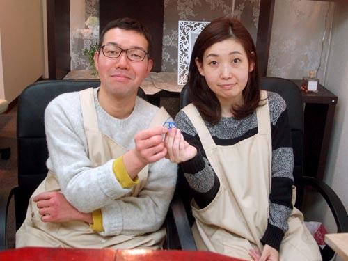 結婚指輪原型が完成した兵庫のお客様
