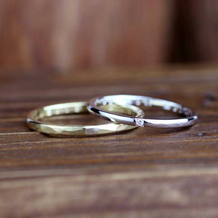 結婚指輪手作り彫金コース05