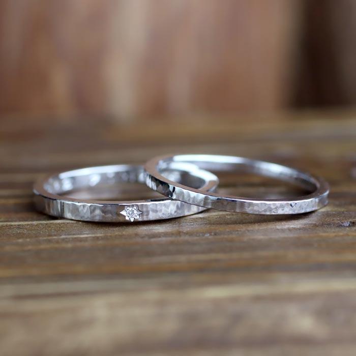 結婚指輪手作り彫金コース06