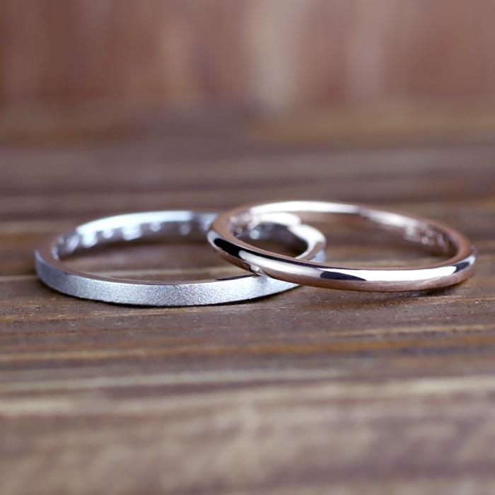 結婚指輪手作り彫金コース07