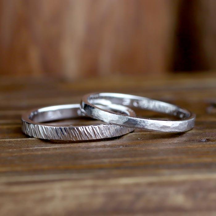 結婚指輪手作り彫金コース08