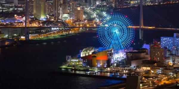 大阪ベイエリアの夜景