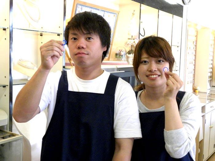 手作り来店のカップル