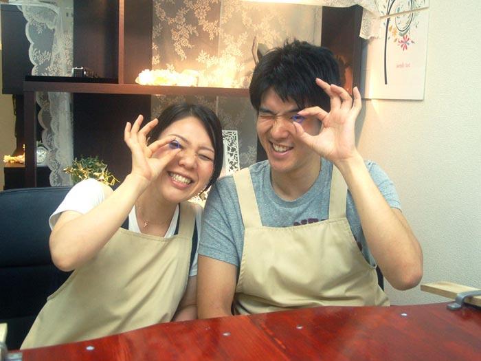 大阪から来店の結婚指輪製作